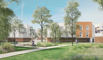 Chartres programme immobilier neuve « Green Lane » en Loi Pinel  (2)