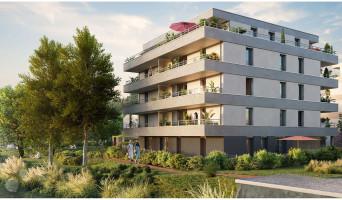 Strasbourg programme immobilier neuve « Les Moulins Becker » en Loi Pinel  (2)