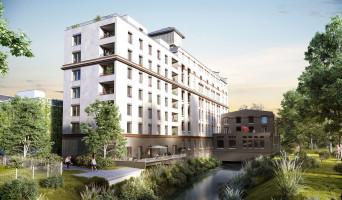 Strasbourg programme immobilier neuve « Les Moulins Becker » en Loi Pinel  (3)