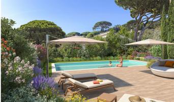 Cavalaire-sur-Mer programme immobilier neuve « Castel Panorama » en Loi Pinel  (3)