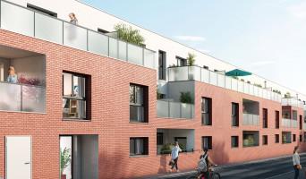 Le Petit-Quevilly programme immobilier rénové « Nouvel Angle » en loi pinel