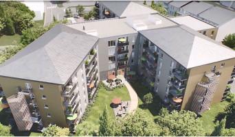 Bourg-en-Bresse programme immobilier neuve « Marguerite »  (2)