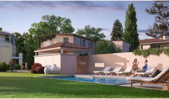 Aix-en-Provence programme immobilier neuve « Un Jardin en Provence II »  (3)