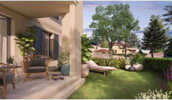 Aix-en-Provence programme immobilier neuve « Un Jardin en Provence II »  (4)