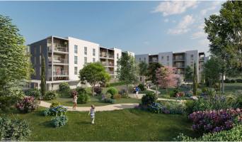 Arles programme immobilier neuve « Les Jardins du Canal » en Loi Pinel  (2)