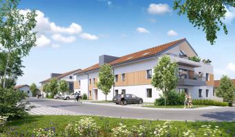 Crozet programme immobilier neuve « Sainbioz »  (2)