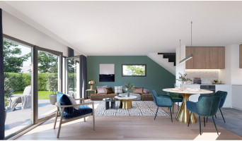 Crozet programme immobilier neuve « Sainbioz »  (5)