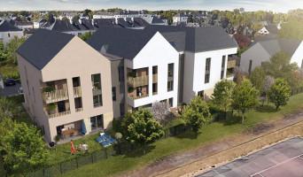 Saint-Avertin programme immobilier rénové « Les Contemporaines » en loi pinel