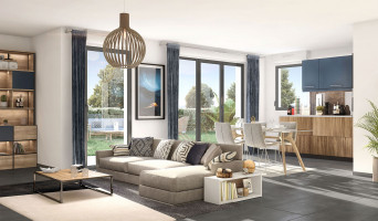 Aix-en-Provence programme immobilier neuve « Aria » en Loi Pinel  (4)