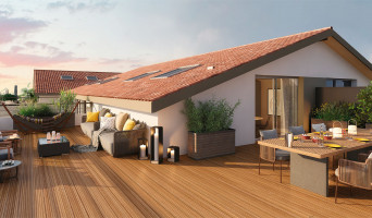 Toulouse programme immobilier neuve « Villa Roméo » en Loi Pinel  (2)