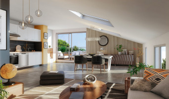 Toulouse programme immobilier neuve « Villa Roméo » en Loi Pinel  (3)