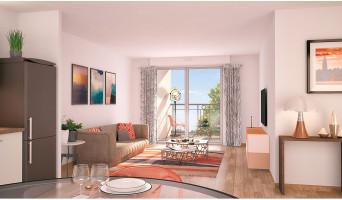 Nancy programme immobilier neuve « Les Deux Rives 2 »