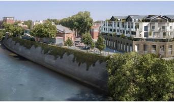 Toulouse programme immobilier neuf « Les Belles Rives » en Loi Pinel