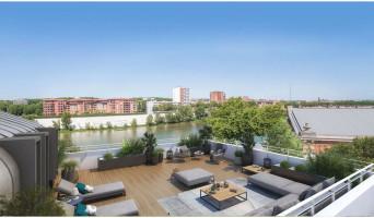 Toulouse programme immobilier neuve « Les Belles Rives » en Loi Pinel  (2)