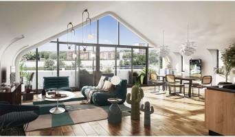 Toulouse programme immobilier neuve « Les Belles Rives » en Loi Pinel  (3)