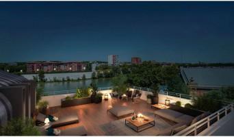 Toulouse programme immobilier neuve « Les Belles Rives » en Loi Pinel  (5)