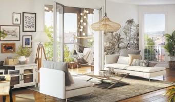 Houilles programme immobilier neuve « Les Jardins Schoelcher » en Loi Pinel  (3)