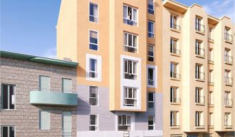 Nice programme immobilier neuve « Carré Confidence » en Loi Pinel  (2)
