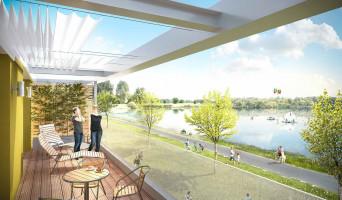 Monteux programme immobilier rénové « Le Patio du Lac » en loi pinel