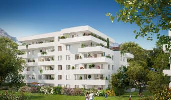 Meylan programme immobilier neuve « Le Domaine des Saules Blancs » en Loi Pinel  (2)