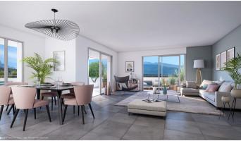 Meylan programme immobilier neuve « Le Domaine des Saules Blancs » en Loi Pinel  (3)