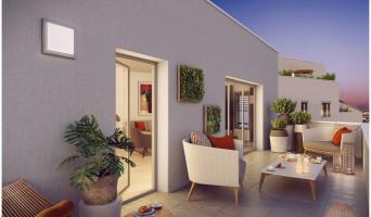 Villeurbanne programme immobilier rénové « Square Verde » en loi pinel