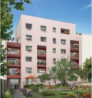 Villeurbanne programme immobilier neuve « Square Verde » en Loi Pinel  (2)