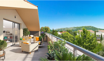 Toulon programme immobilier neuf « Trilogy » en Loi Pinel