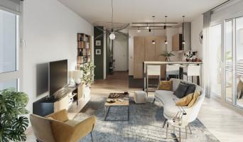 Metz programme immobilier neuve « Plénitude » en Loi Pinel  (3)