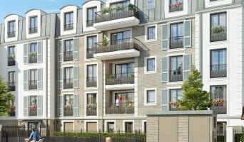 Franconville programme immobilier rénové « Le Quatuor » en loi pinel