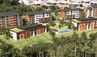 Remire-Montjoly programme immobilier rénové « Ebène Rose 2022 » en loi pinel