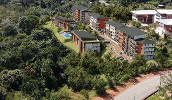 Remire-Montjoly programme immobilier neuve « Ebène Rose 2022 » en Loi Pinel  (2)