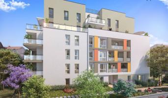 Villeurbanne programme immobilier rénové « Ceur Balzac » en loi pinel