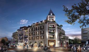 Le Blanc-Mesnil programme immobilier rénové « Villa Voie Romaine » en loi pinel