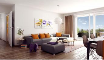 Thiais programme immobilier neuve « Beaux Accords 2 » en Loi Pinel  (4)