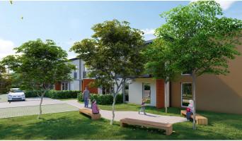 Mondonville programme immobilier rénové « Patio Lina » en loi pinel