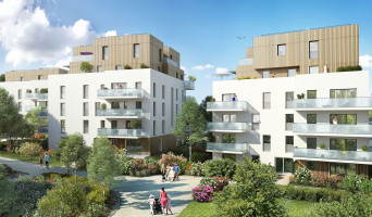 Viry programme immobilier neuf « Origami » en Loi Pinel