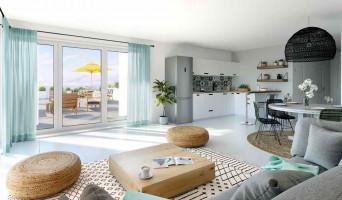 Marseille programme immobilier neuf « Euromediterranée Les Fabriques - Prix Maitrisés »