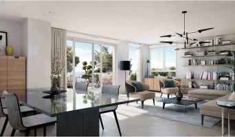 Toulon programme immobilier neuve « Clairière du Cap » en Loi Pinel  (4)