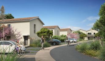 Le Taillan-Médoc programme immobilier rénové « Couleur Jardin »