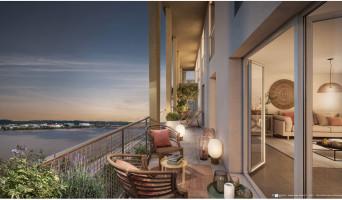 Bordeaux programme immobilier rénové « Cap Garonne » en loi pinel