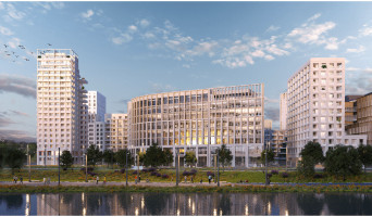 Bordeaux programme immobilier neuf « Quai Neuf » en Loi Pinel