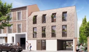 Ivry-sur-Seine programme immobilier rénové « La Briqueterie » en loi pinel
