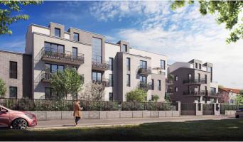 Villeneuve-la-Garenne programme immobilier rénové « Le Domaine Sisley » en loi pinel