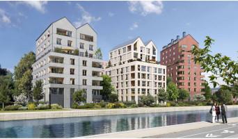 Bobigny programme immobilier rénové « Les Reflets de l'Ourcq » en loi pinel