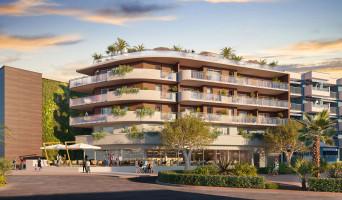 Cavalaire-sur-Mer programme immobilier neuve « Eden Blue » en Loi Pinel  (2)
