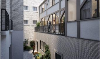 Paris programme immobilier neuf « Carré Parmentier » en Loi Pinel