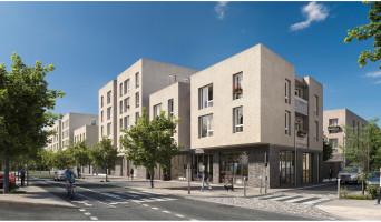 Les Mureaux programme immobilier rénové « L'Empreinte » en loi pinel