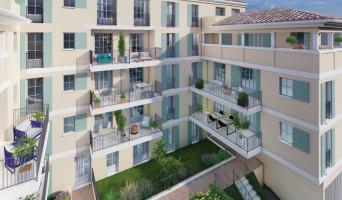 Nîmes programme immobilier neuve « Le Petit Louvre » en Loi Pinel  (3)