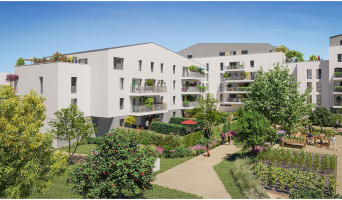 Angers programme immobilier neuf « Les Jardins d'Elise » en Loi Pinel